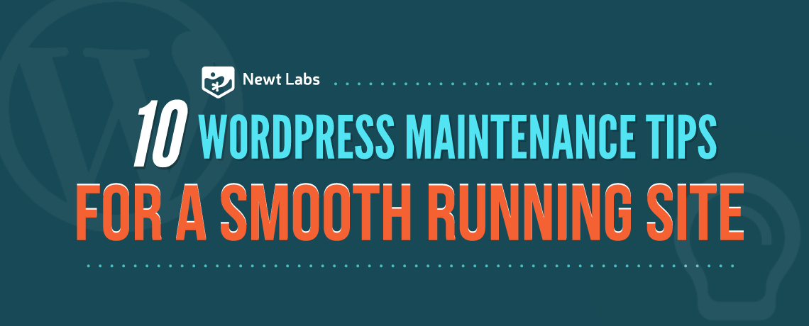 wordpress maintenance introduction