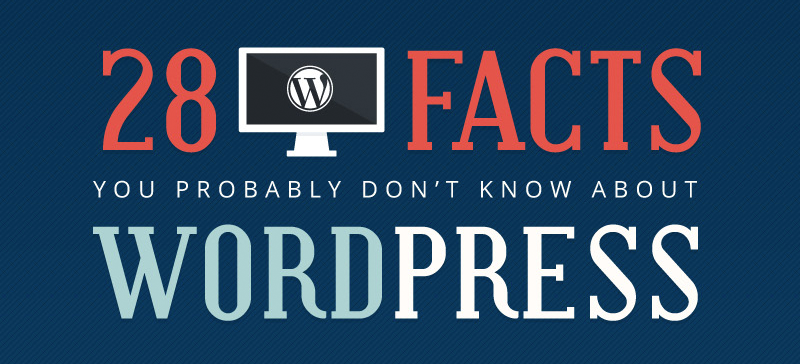 28 facts about wordpress