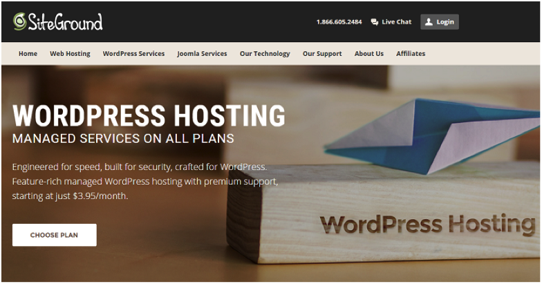 Best hosting options for wordpress