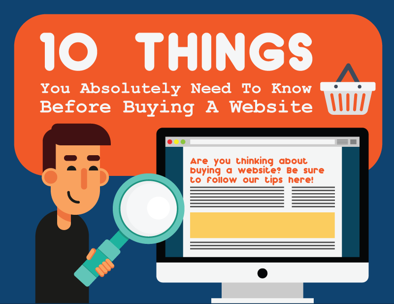10 things you need to think about before buying a website