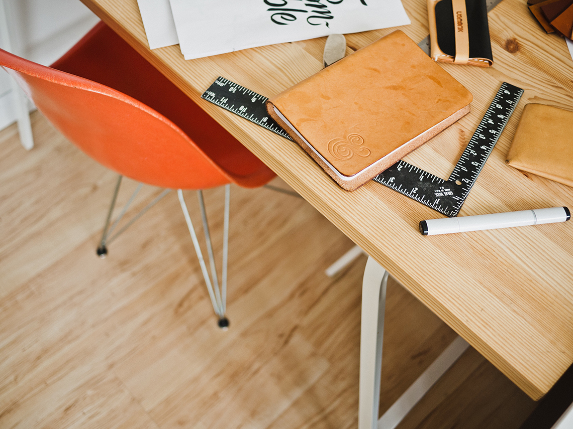 web designers desk