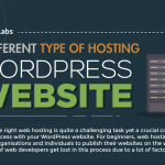 The Different Types Of Hosting For Your WordPress Website (Infographic)