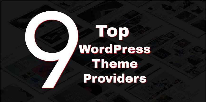9 top wordpress theme providers