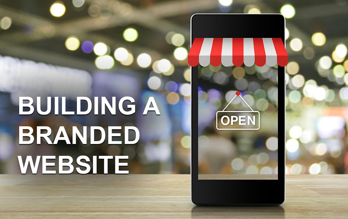 building a branded website