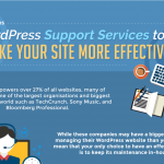 14 WordPress Support Services To Make Your Site More Effective (Infographic)