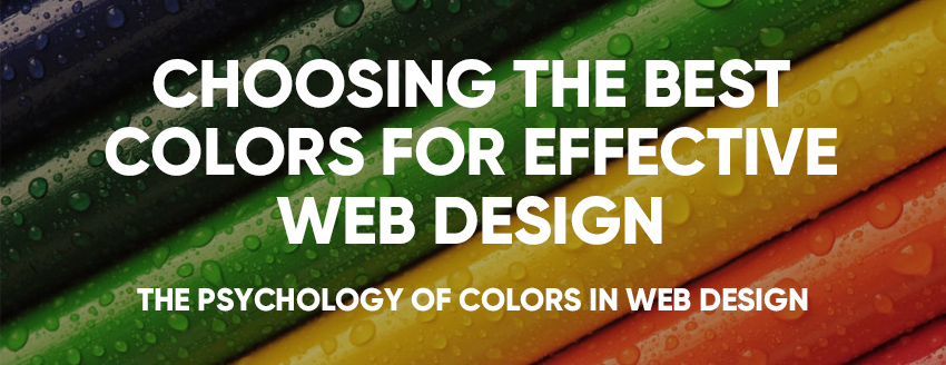 choosing the best colours for effective web design