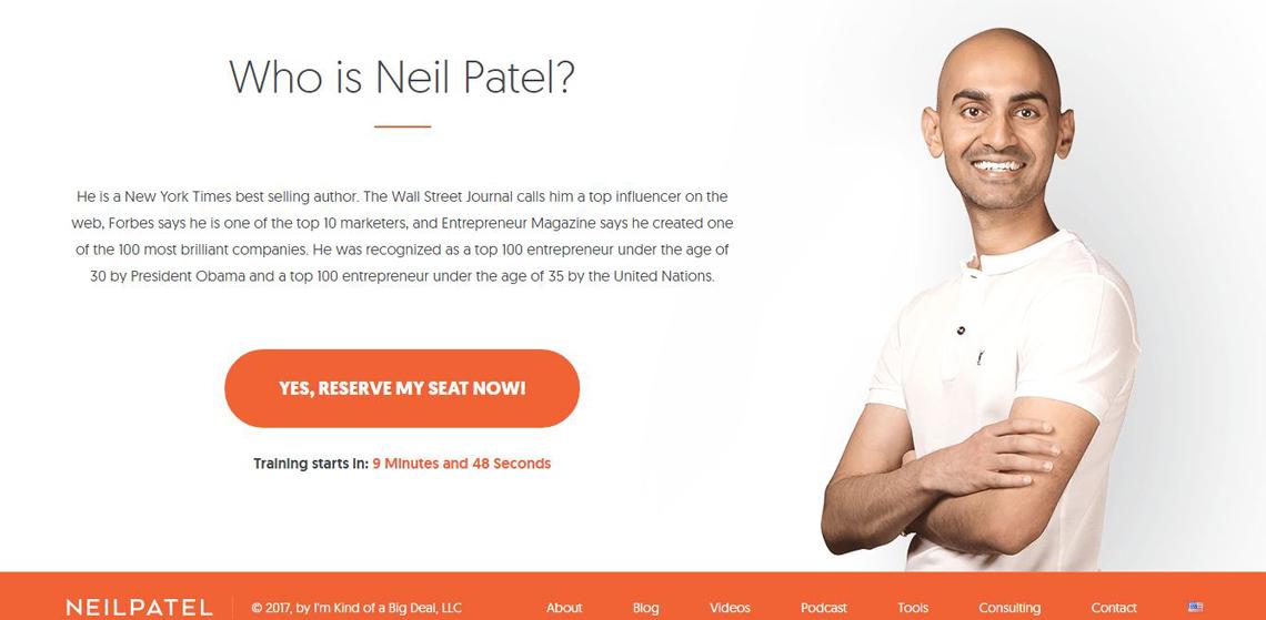 neil patel website
