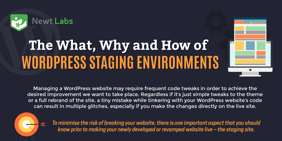 The What, Why and How of WordPress Staging Environments Intro