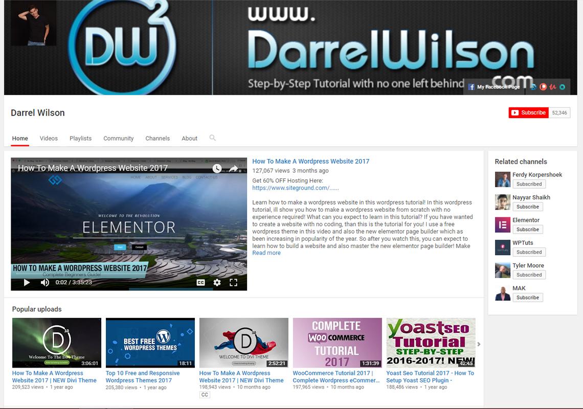 darrel wilson website