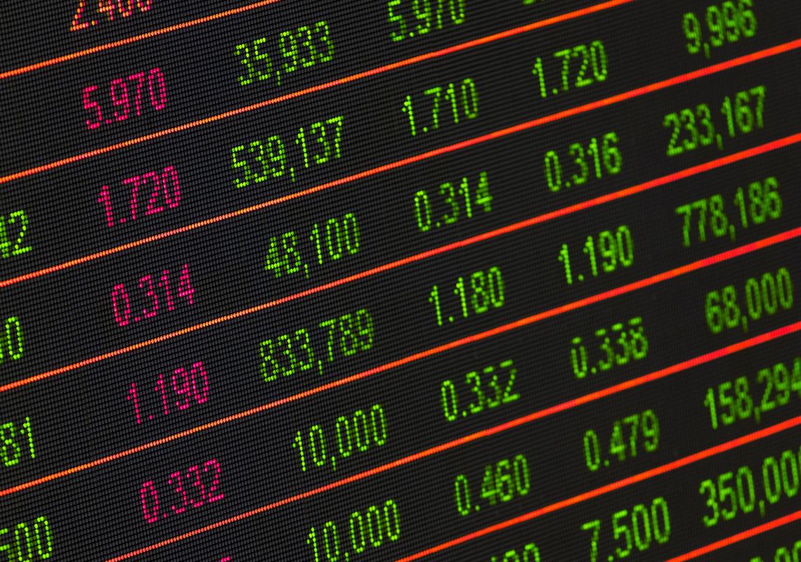 stock market trades