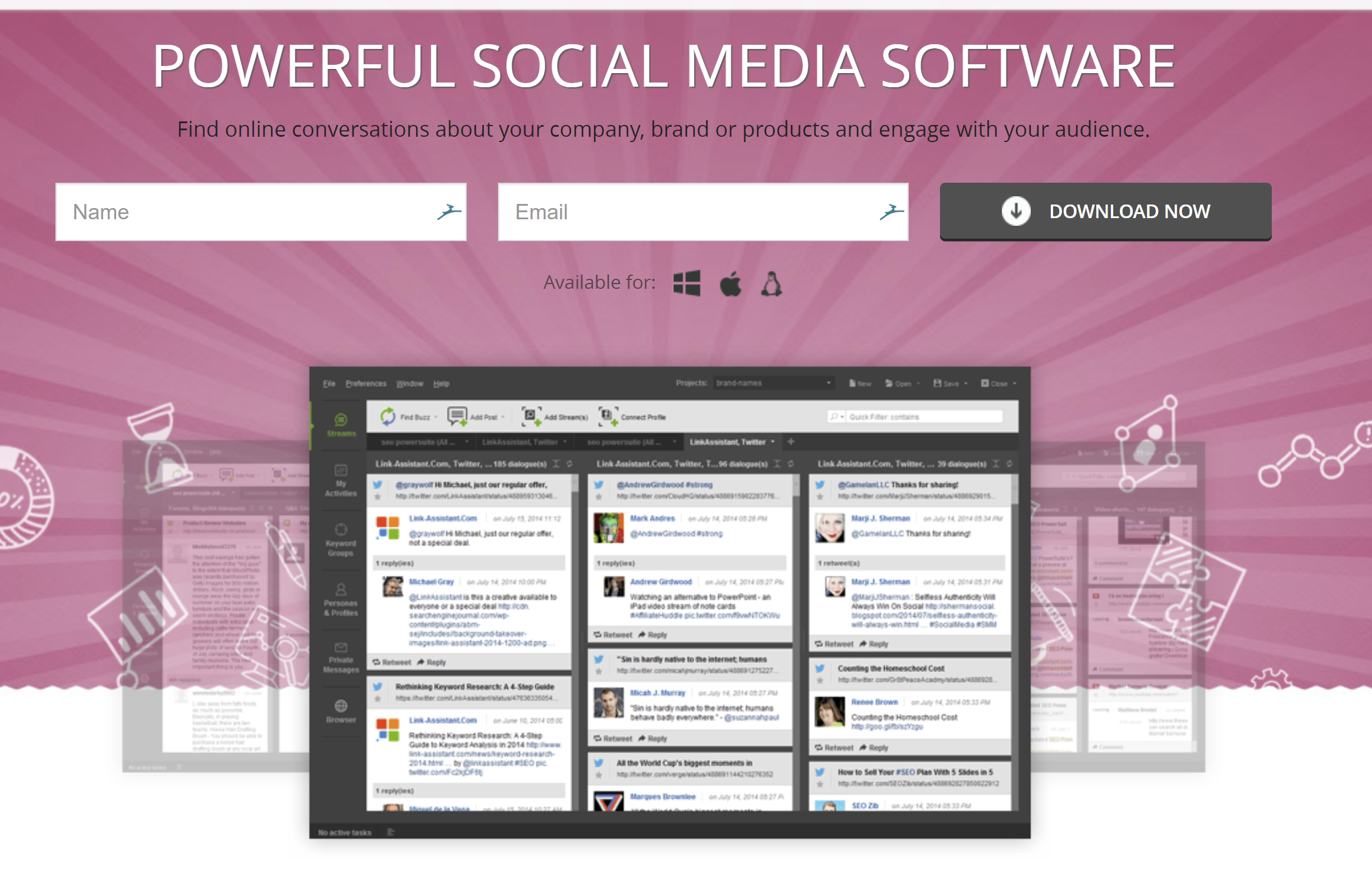 powerful social media software