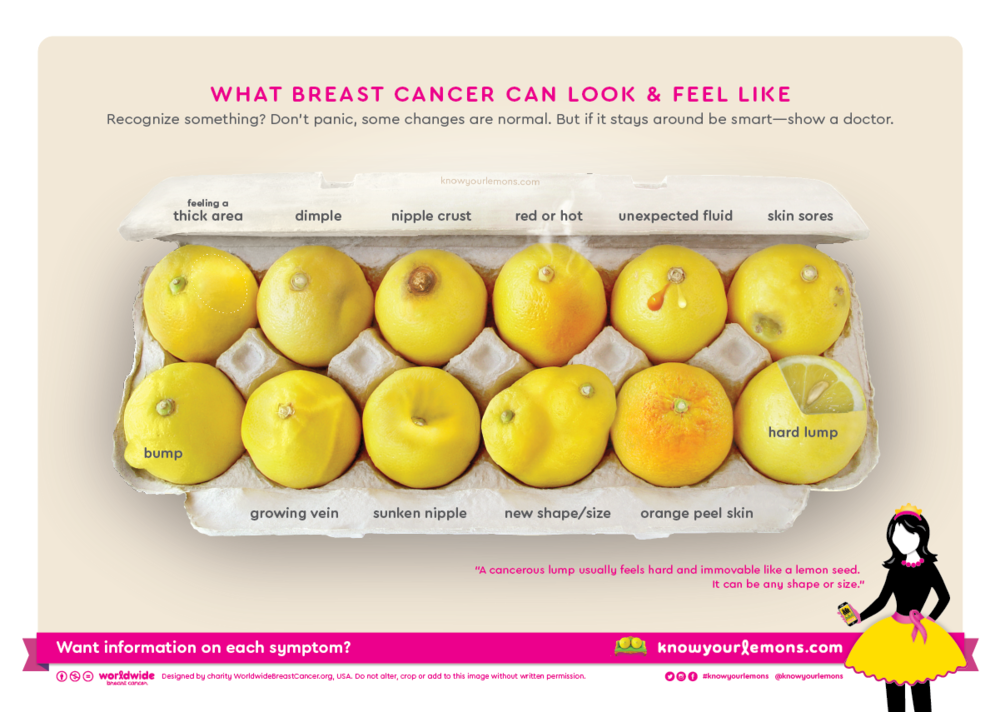 know your lemons social media marketing campaign showing deformed lemons