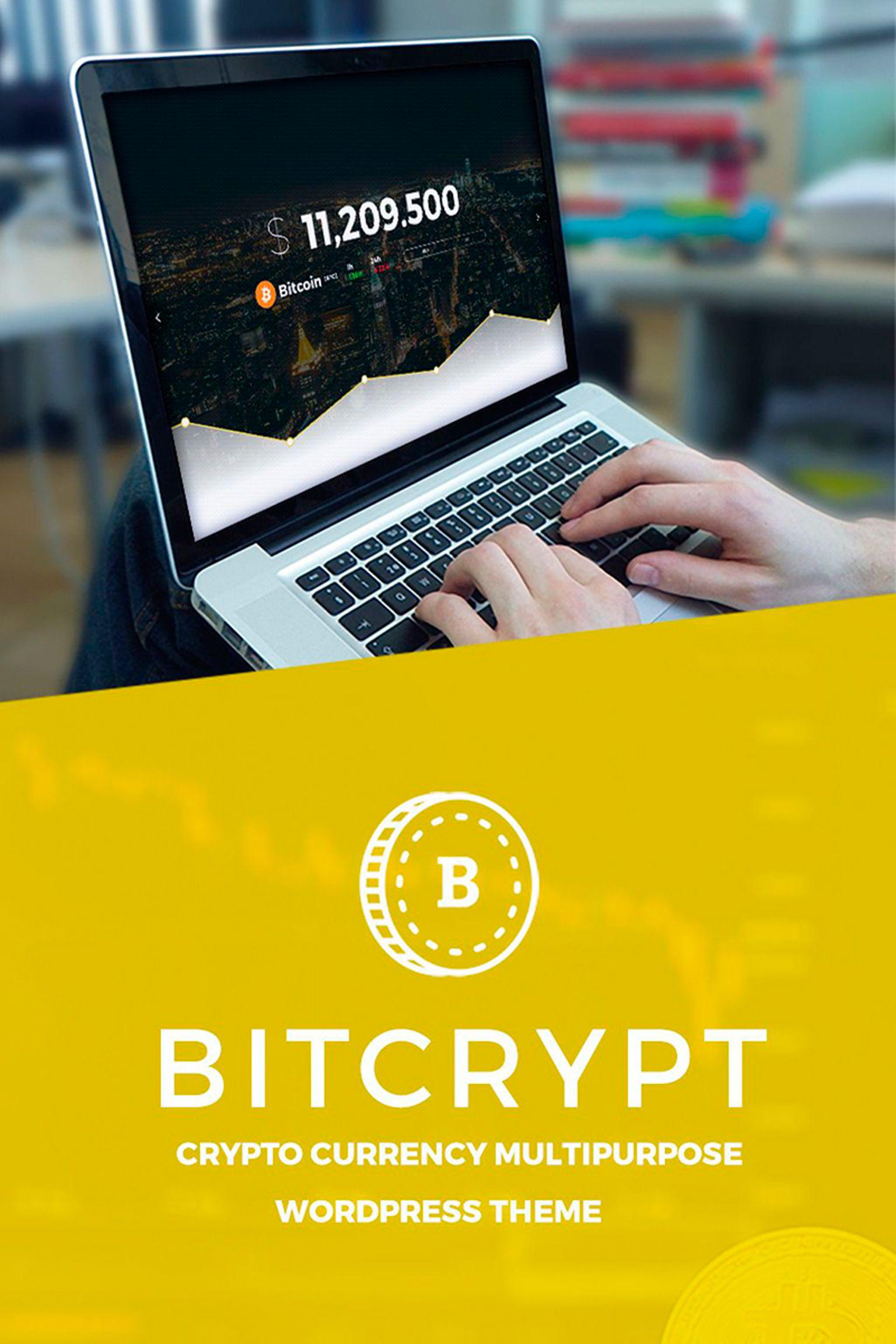 Bitcrypt wordpress theme