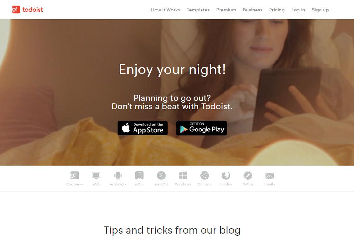 todoist website
