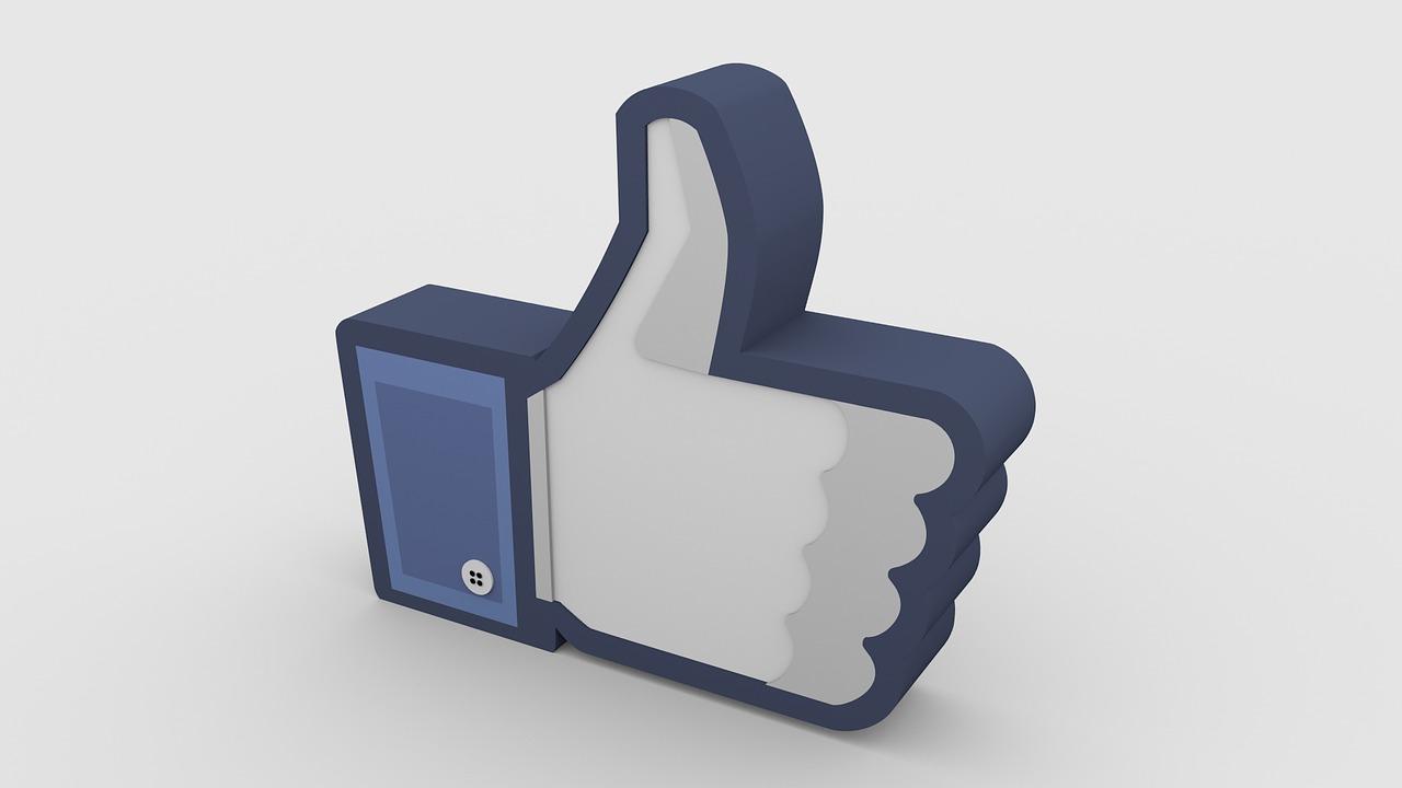 facebook like thumbs up