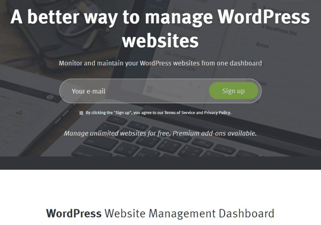manage wordpress