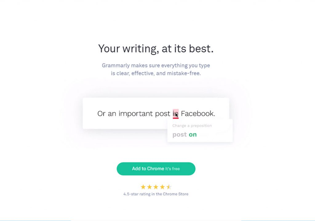 grammarly grammar checking website