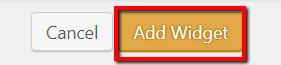 Click Add Widget