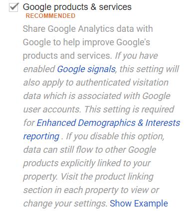 Google Analytics Products