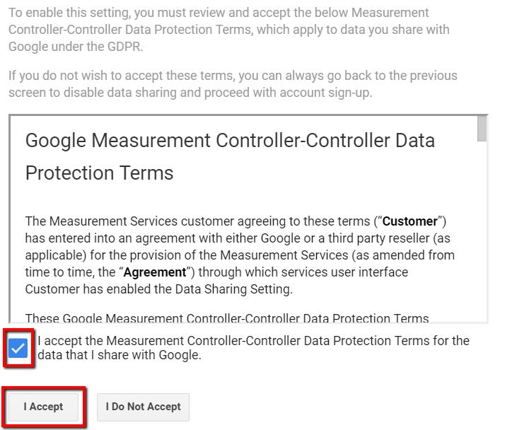 Google Measurement Controller-Controller