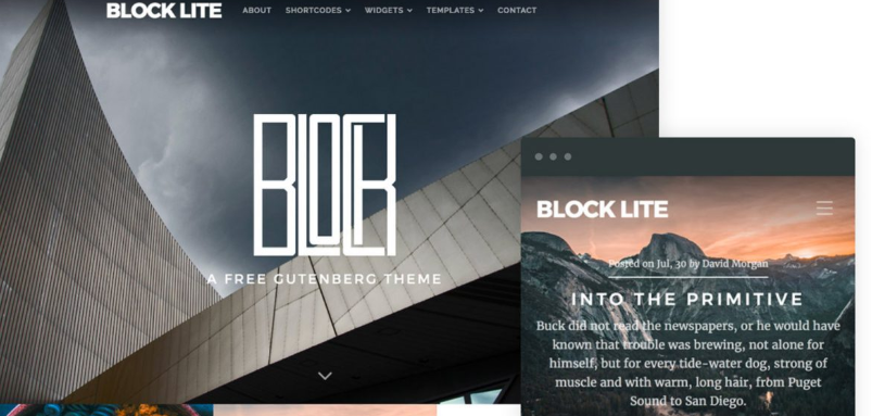 Block Lite by Organic Themes